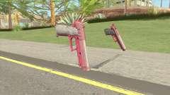 Hawk And Little Pistol GTA V (Pink) V1 para GTA San Andreas