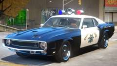 1969 Shelby GT500 Police