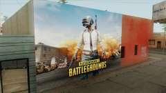 PUBG Wall para GTA San Andreas