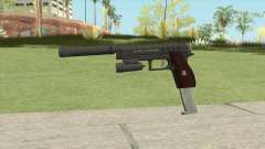 Hawk And Little Pistol GTA V Black (New Gen) V3 para GTA San Andreas