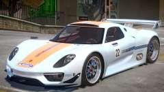 Porsche 918 RSR PJ1 para GTA 4
