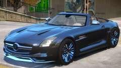 Mercedes Benz SLS Rodster para GTA 4