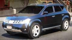 Nissan Murano V1 para GTA 4