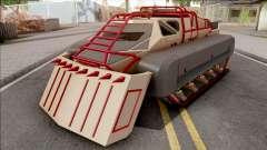GTA V HVY Scarab FS Track Weels Moving para GTA San Andreas