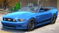 Ford Mustang GT Cabrio para GTA 4
