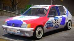 Peugeot 205 Sport PJ para GTA 4