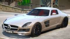 Mercedes Benz SLS Widestar para GTA 4