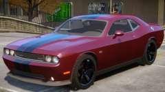 Dodge Challenger SRT V1.1 para GTA 4