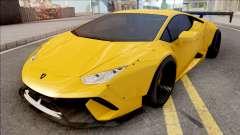 Lamborghini Huracan Performante Yellow para GTA San Andreas