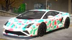 Lamborghini Gallardo V2 PJ2 para GTA 4
