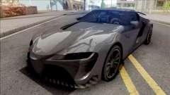 Toyota Supra 2020 Low Poly para GTA San Andreas