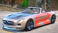 Mercedes Benz SLS Rodster PJ2 para GTA 4