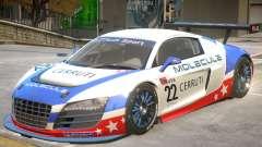 Audi R8 GT-S V1 PJ4 para GTA 4