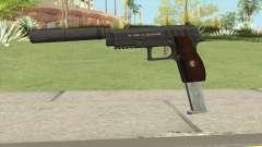 Hawk And Little Pistol GTA V Black (New Gen) V7 para GTA San Andreas
