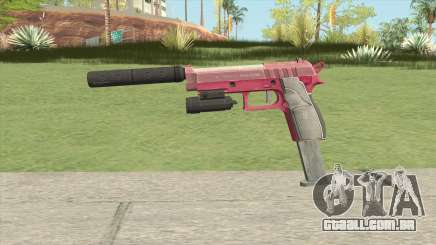 Hawk And Little Pistol GTA V (Pink) V3 para GTA San Andreas