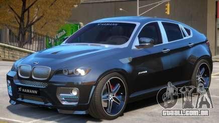BMW X6 EVO Hamann para GTA 4