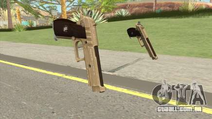 Hawk And Little Pistol GTA V (Army) V1 para GTA San Andreas