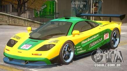 McLaren F1 V2 PJ6 para GTA 4