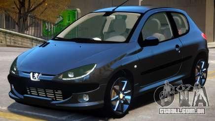 Peugeot 206 V1.1 para GTA 4