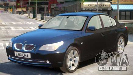 BMW 525d E60 V2 para GTA 4