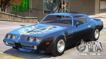 1980 Pontiac TransAm para GTA 4