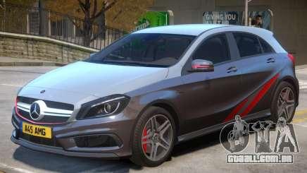 Mersedes Benz A45 V1 PJ3 para GTA 4