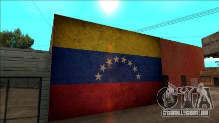 Venezuela bandeira na parede para GTA San Andreas