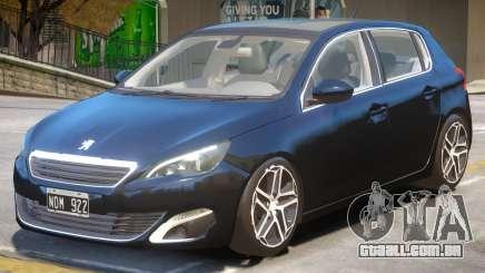 Peugeot 308 V1.2 para GTA 4