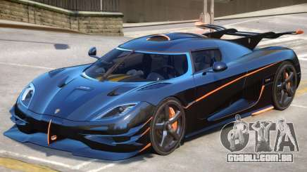 Koenigsegg One Improved para GTA 4