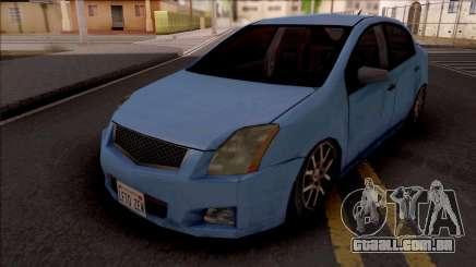 Nissan Sentra 2012 Lowpoly para GTA San Andreas