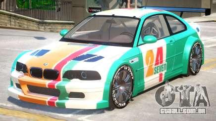 BMW M3 GTR PJ4 para GTA 4