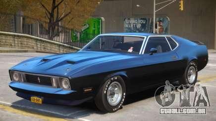 1973 Ford Mustang R2 para GTA 4