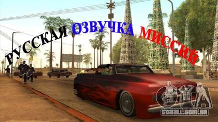 Russo voz v4 para GTA San Andreas