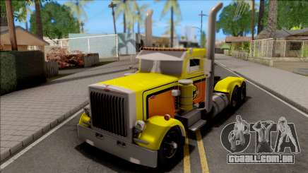 Peterbilt 379 Livingston Truck Convoy para GTA San Andreas