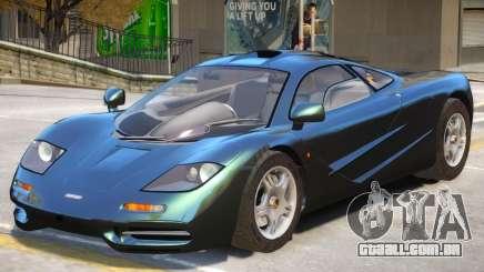 McLaren F1 V1 para GTA 4