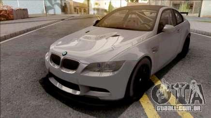 BMW M3 GTS 2010 Grey para GTA San Andreas