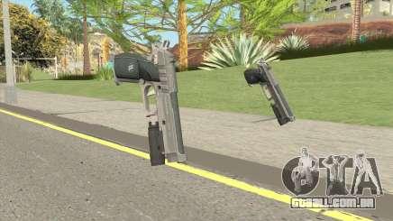 Hawk And Little Pistol GTA V Black (Old Gen) V4 para GTA San Andreas