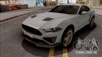Ford Mustang 2019 ROUSH para GTA San Andreas