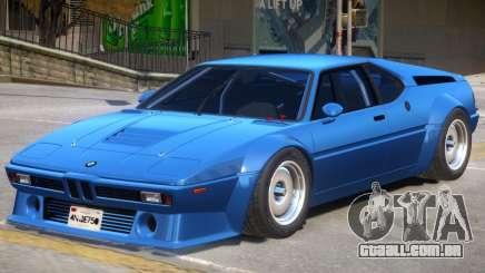 BMW M1 V1 para GTA 4