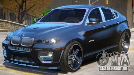 BMW X6 Hamann V2 para GTA 4