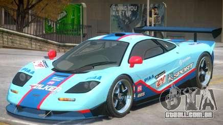 McLaren F1 V2 PJ5 para GTA 4
