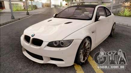 BMW M3 E92 2008 White para GTA San Andreas
