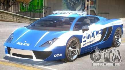 Pegassi Vacca Police V1 para GTA 4