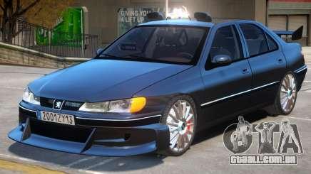 Taxi Peugeot 406 para GTA 4