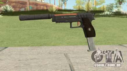 Hawk And Little Pistol GTA V (Orange) V7 para GTA San Andreas