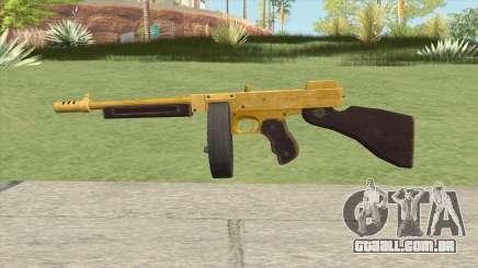 Edinburgh Gusenburg Sweeper GTA V (Gold) V2 para GTA San Andreas