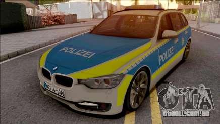 BMW 335i F31 Polizei para GTA San Andreas