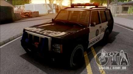 Todoterreno De La Policia para GTA San Andreas