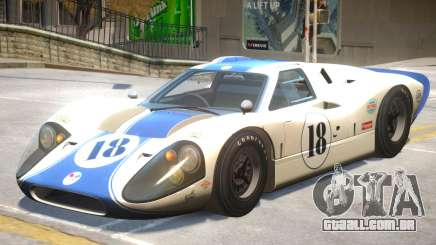 1967 Ford GT40 V1 PJ4 para GTA 4