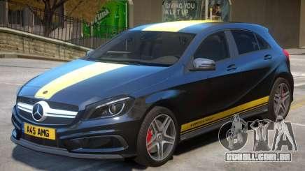 Mersedes Benz A45 V1 PJ6 para GTA 4